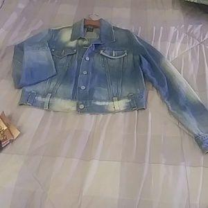 Levi's Jackets & Coats - Vintage Levi's cropped jean jacket.